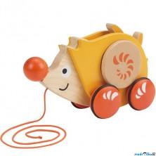 Tahací hračka - Ježek s rotujícími bodlinami (Hape)