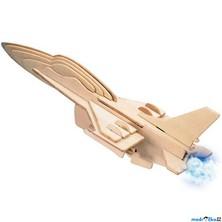 3D Puzzle přírodní - Stihačka F-16
