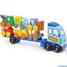 Auto - Tahač se stavebními stroji (Vilac)