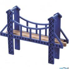 Vláčkodráha mosty - Visutý most (Vláčky)