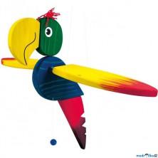 Závěsná hračka - Papoušek velký (Bino)