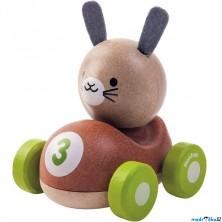 Auto - Závodník králíček dřevěné (PlanToys)