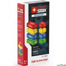 Light Stax - Rozšiřující set, červená, žlutá, zelená, modrá