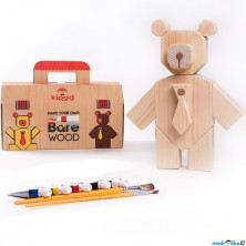 Kreativní sada - Medvídek Bare Wood (Kipod)