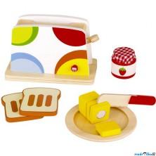 Kuchyň - Toustovač dětský dřevěný (Goki)