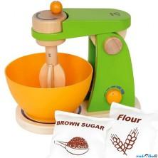 Kuchyň - Mixér dětský dřevěný (Hape)