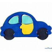Puzzle z masivu - Malé, Auto modré (Fauna)
