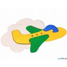 Puzzle z masivu - Malé, Letadlo (Fauna)