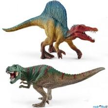 Schleich - Dinosaurus set, Spinosaurus a T-Rex