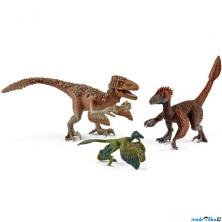 Schleich - Dinosaurus set, Opeření dravci