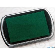 Razítkovací polštářek - Velký, barva zelená
