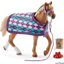 Schleich - Kůň, Anglický plnokrevník s příslušenstvím