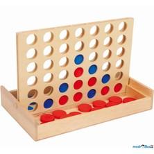 Společenská hra - Piškvorky, 4 v řadě menší (Legler)