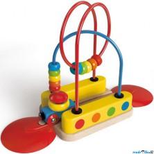 Vláčkodráha KIDS - Kolej s motorickým labyrintem (Hape)