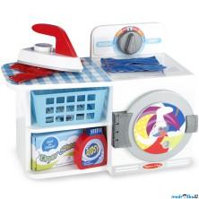 Hospodyňka - Dětská pračka - sušička s žehličkou (M&D)
