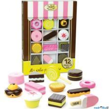 Dekorace prodejny - Set dřevěných sladkostí (Vilac)
