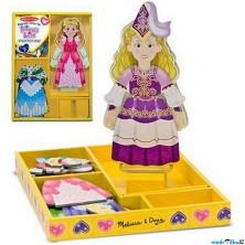 Puzzle oblékání magnetické - Princezna Elise, 24ks (M&D)