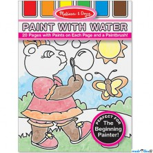 Omalovánky - Malování s vodou, Pro holky (M&D)