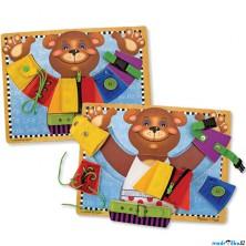 Základní dovednosti - Puzzle s oblékacím medvědem (M&D)