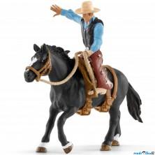 Schleich - Kůň s jezdcem, Kovboj na koni