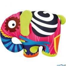 Textilní hračka - Slon barevný 39cm (Bino)