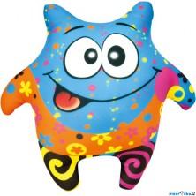 Textilní hračka - Klauník modrý 23cm (Bino)