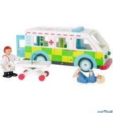 Auto - Sanitka velká s příslušenstvím (Legler)