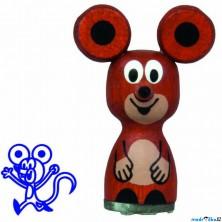 Razítko dřevěné - Myška (Detoa)