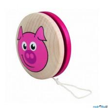 Drobné hračky - Jojo Prase, růžové (Detoa)