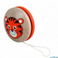 Drobné hračky - Jojo Tygřík, oranžové (Detoa)