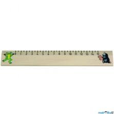 Pravítko - Dřevěné 20cm, Krtek (Detoa)