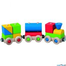 Vlak skládací - Veselý vláček (Detoa)