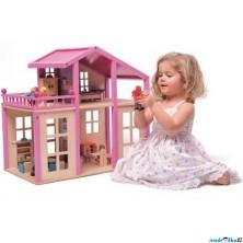 Domeček pro panenky - Britta s příslušenstvím (Woody)