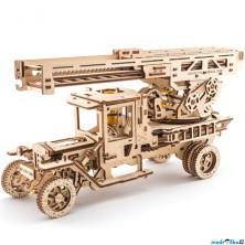 3D mechanický model - Truck UGM-11, Požární žebřík (Ugears)