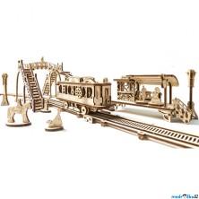 3D mechanický model - Tramvajová linka (Ugears)