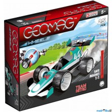 Geomag - Wheels 711, Team Nitro, 25 dílků