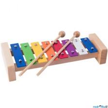 Hudba - Xylofon 8 tónů, Kovový (Woody)