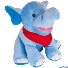 Maňásek - Slon Nira na ruku, plyš (Goki)