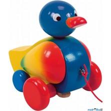 Tahací hračka - Kačer klapací modrý (Woody)