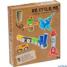 Kreativní sada - Re-cycle-me, Pro kluky, Role od toaletního papíru