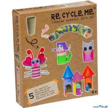 Kreativní sada - Re-cycle-me, Pro holky, Role od toaletního papíru