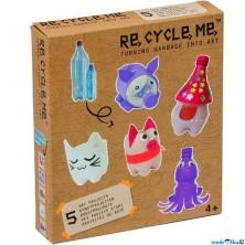 Kreativní sada - Re-cycle-me, Pro holky, PET lahev