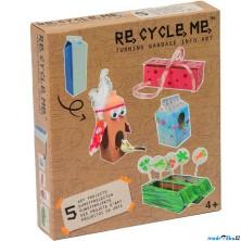 Kreativní sada - Re-cycle-me, Pro holky, Krabice od mléka
