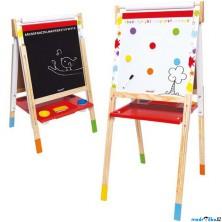 Kreslící tabule - Výškově nastavitelná Splash, 91 až 126cm (Janod)