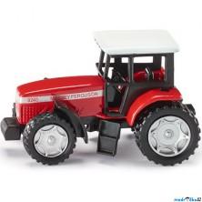 SIKU kovový model - Traktor Massey Ferguson