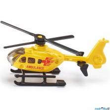 SIKU kovový model - Záchranná helikoptéra