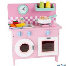 Kuchyň - Dětská kuchyňka s pračkou Rosali (Legler)