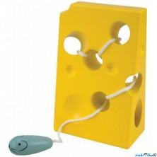 Provlékadlo - Myš a sýr, barevné (Woody)