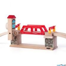 Vláčkodráha mosty - Sklopný most (Woody)