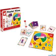 Společenská hra - Master Mime, Pantomima (Janod)